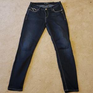 Women's Silver Brand Skinny Jeans